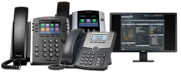 Hosted telephony solutions
