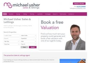 Michael Usher Property Sales and Lettings are located opposite the White Hart pub in Frimley next to Waitrose.