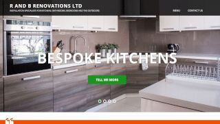 R and B Renovations WordPress design and hosting