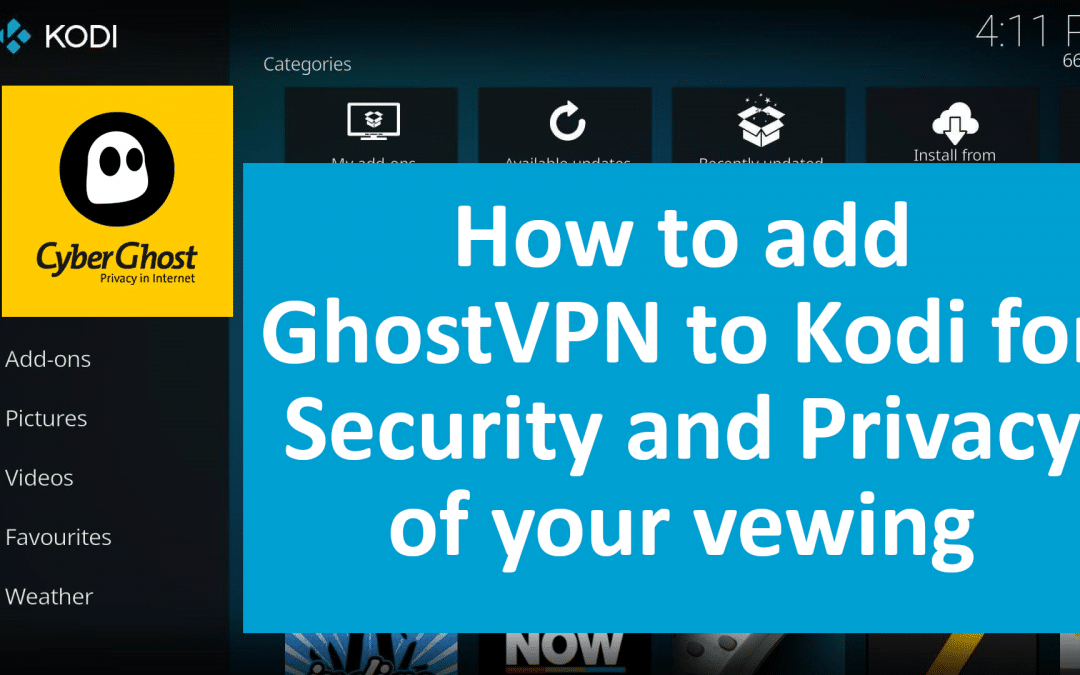 How to install a VPN on Kodi